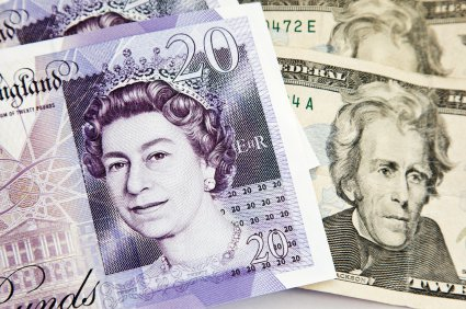 British pound drives higher on US dollar weakness