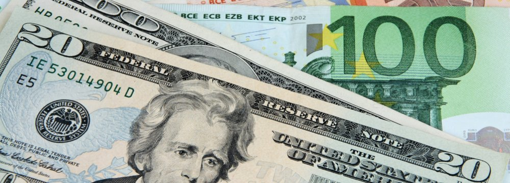 US dollar gains support from upbeat GDP data