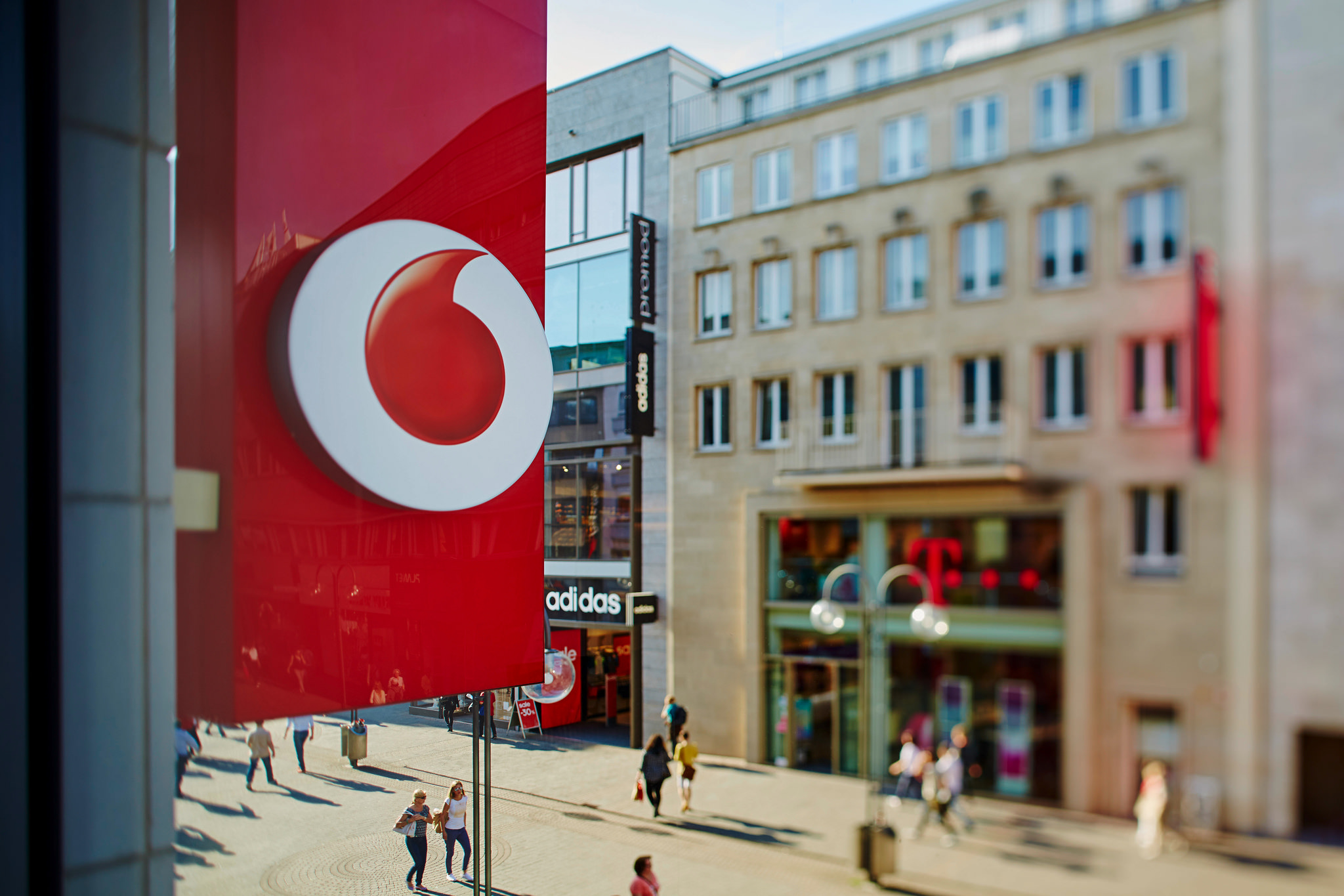 Vodafone share price: Telco issues convertible bonds to fund Liberty deal