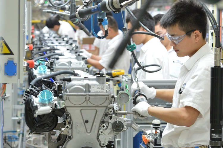 Caixin's survey reinforces the government data that showed improvement in China's factory activity in November