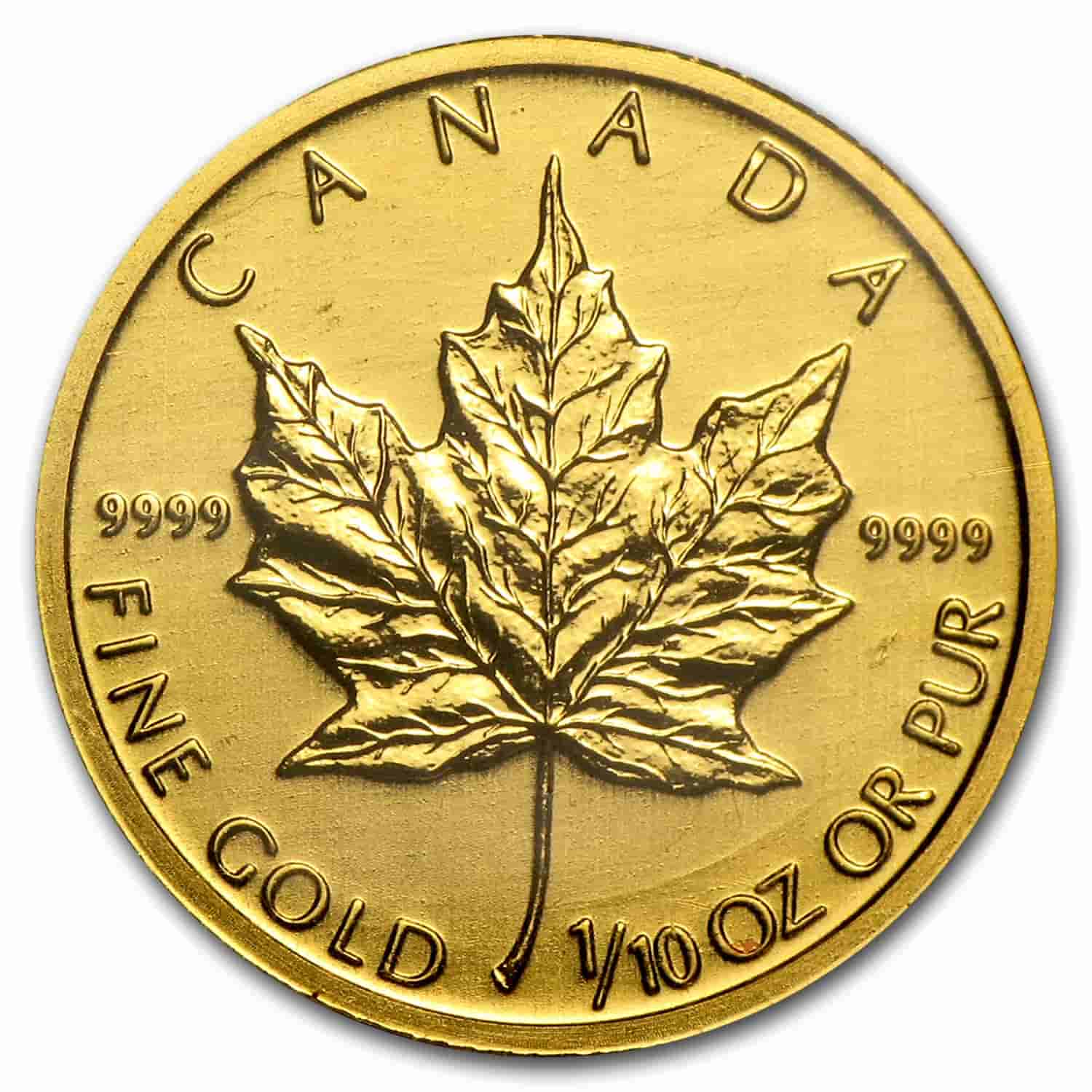 Canadian Gold Maple Leaf Coins as a Gold Bullion Investment