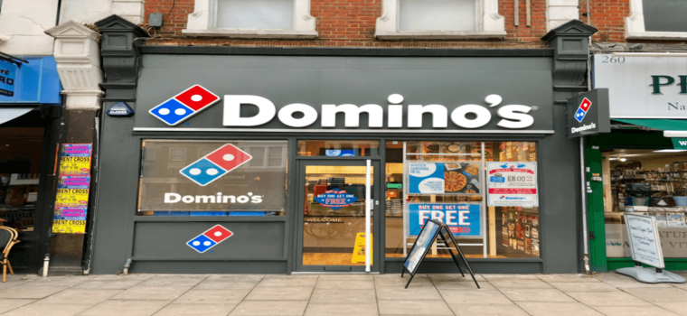 Domino's gains 25% in the stock market on Thursday ascribed to a largely upbeat earnings report