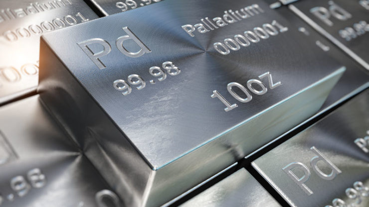 Palladium on the back foot as auto sales plummet