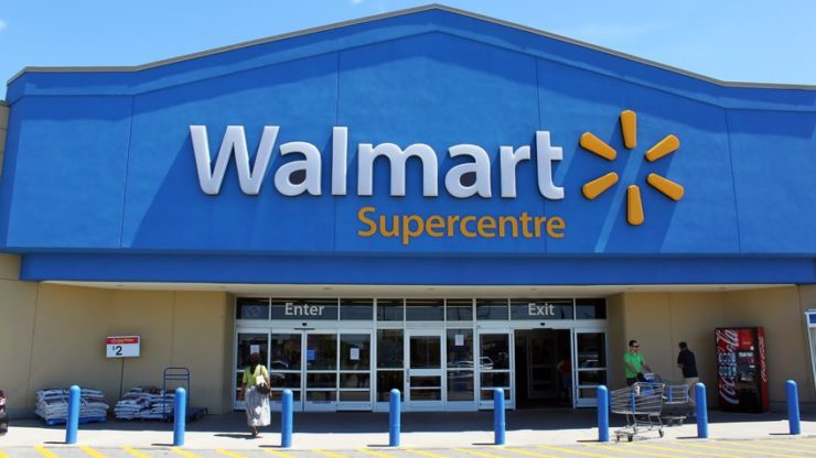 Walmart stock price jumps on surging e-commerce sales