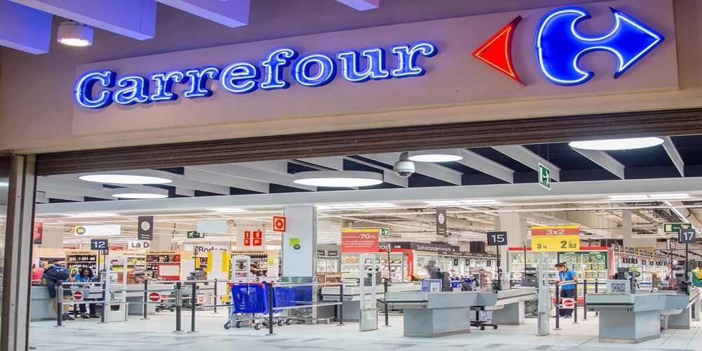 Carrefour partners with Uber Eats to deliver essential items to Parisians during lockdown