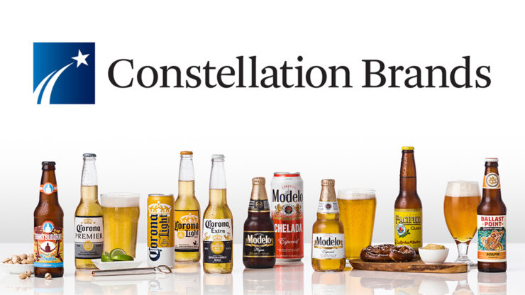 Constellation Brands releases an upbeat earnings report for the fourth quarter