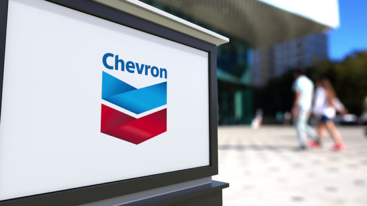 Chevron stock price jumps as oil prices bounce back