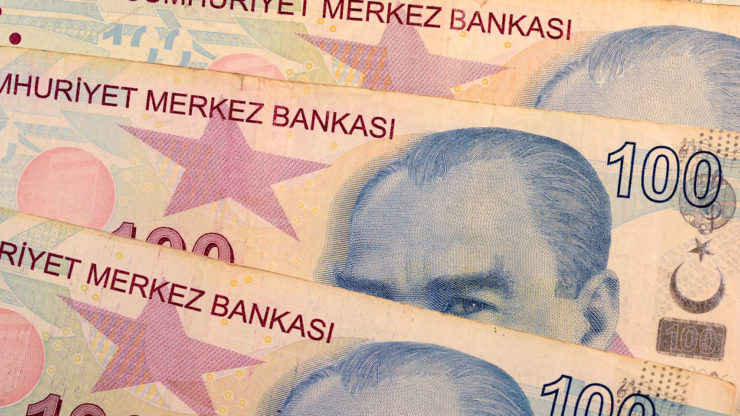 USD/TRY: Lira pauses after Turkish central bank makes 9th rate cut